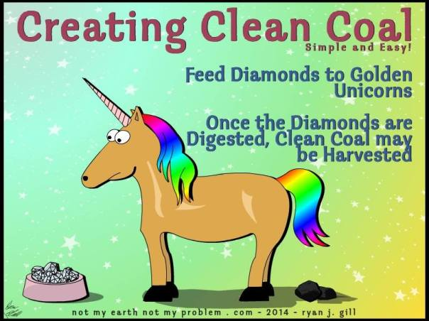 cleancoalunicorn