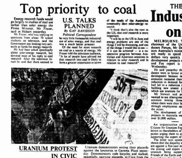 1977 05 21 top priority to coal